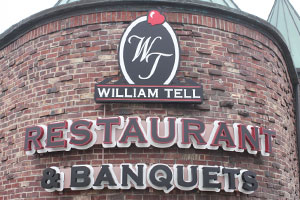 William Tell Light Up Sign
