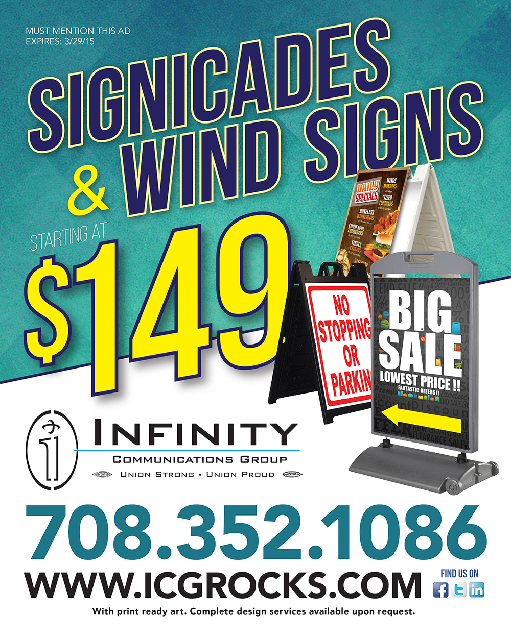 Signicades & Wind Signs starting at $149