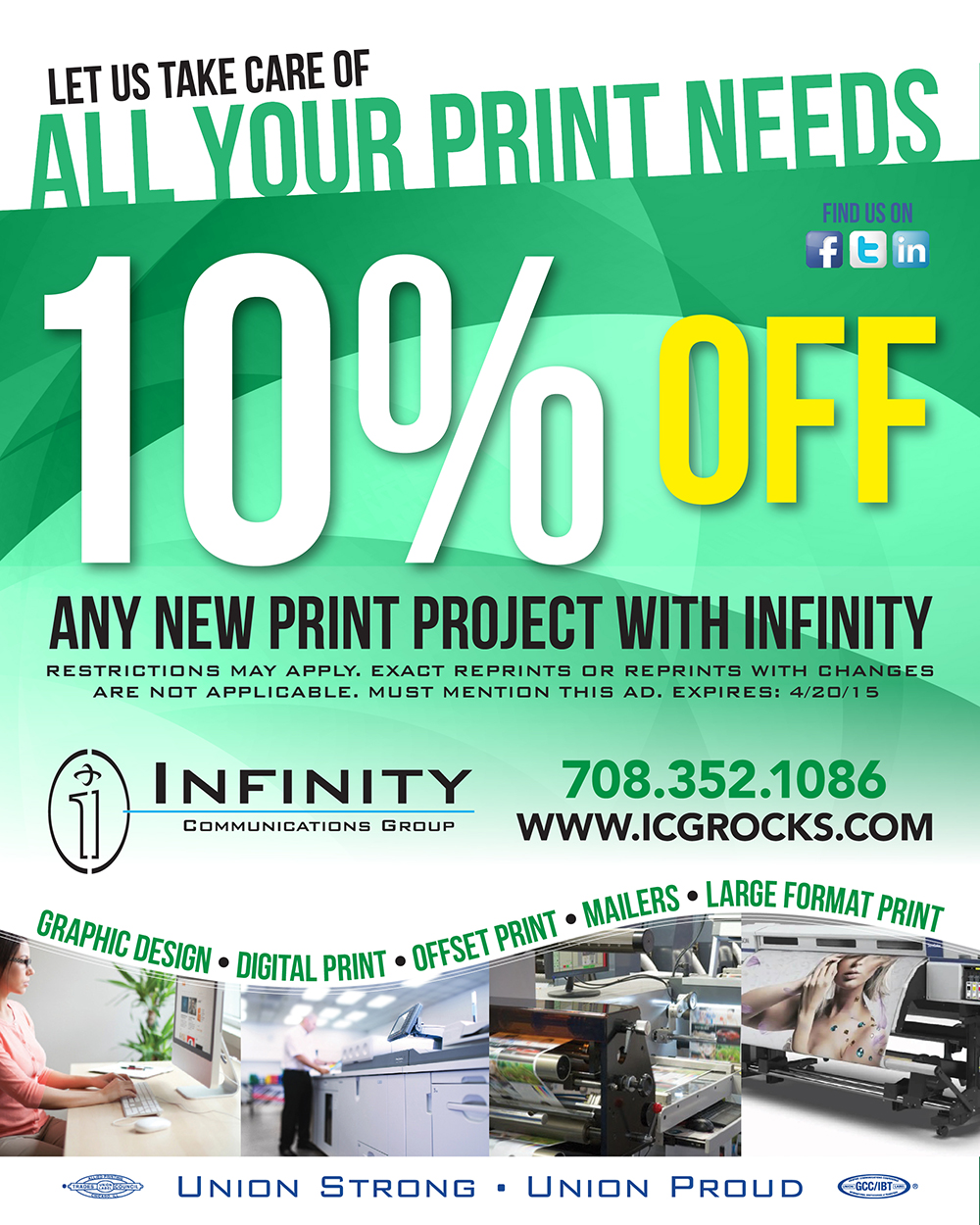 10% Off Professional Printing Services
